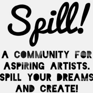 Spill Open Art Studio Logo